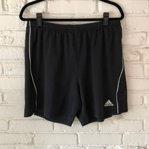 Men's Adidas Black Climalite Shorts
